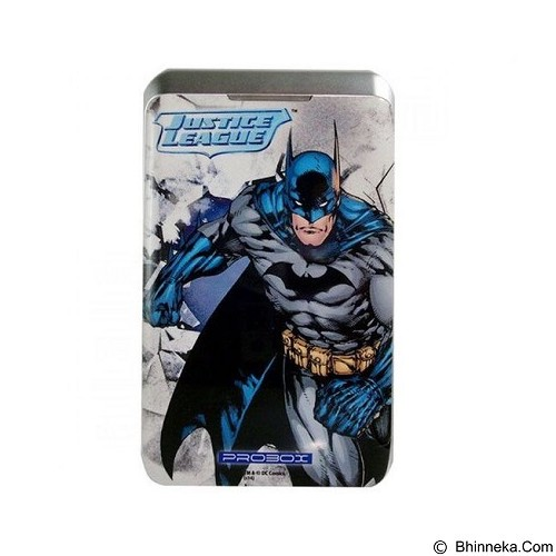 PROBOX MyPower DC Justice League Edition Batman Powerbank 7800mAh (Merchant) - Portable Charger / Power Bank