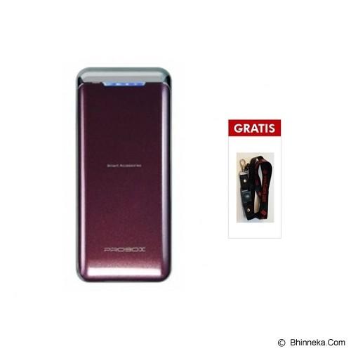 PROBOX Powerbank 5200mAh [HE1-52U1] - Brown (Merchant) - Portable Charger / Power Bank