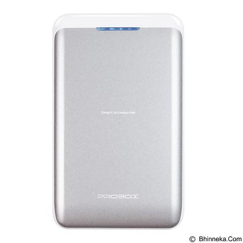 PROBOX Powerbank 7800mAh [HE1-78U2] - Silver - Portable Charger / Power Bank