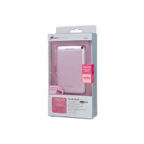 PROBOX Powerbank 7800mAh - Pink - Portable Charger / Power Bank