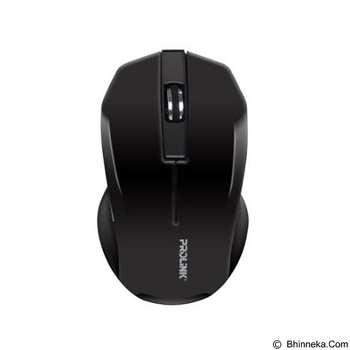 PROLINK Wireless Mouse [PMW6001] - Black (Merchant) - Mouse Basic
