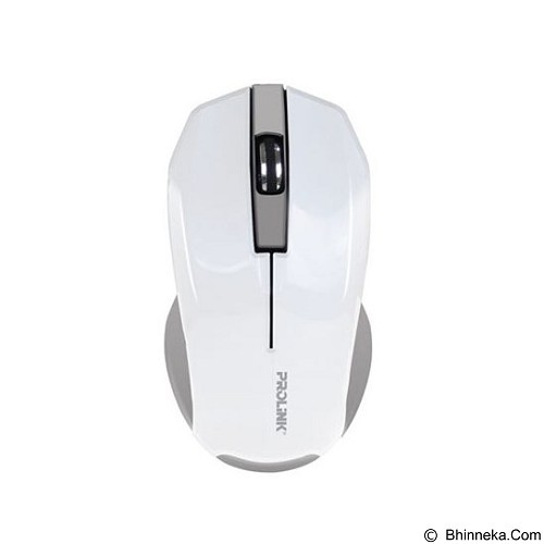 PROLINK Wireless Mouse [PMW6001] - White (Merchant) - Mouse Basic