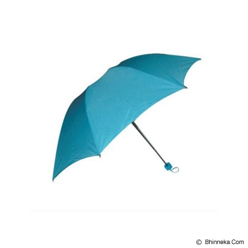 PSE Souvenir Online Payung Corak Basah - Teal Blue - Payung