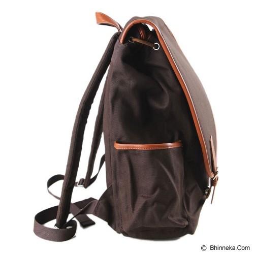 PULCHER Backpack Corvus [C-03] - Brown - Notebook Backpack