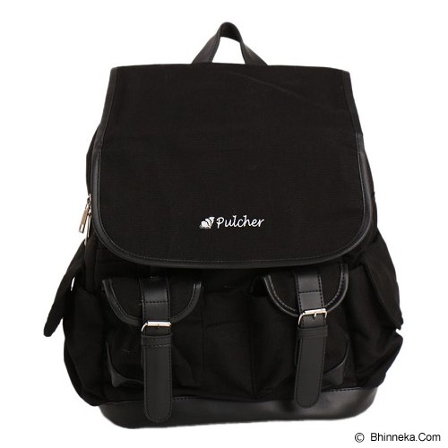 PULCHER Backpack Gewiin Man [F-04] - Black - Notebook Backpack