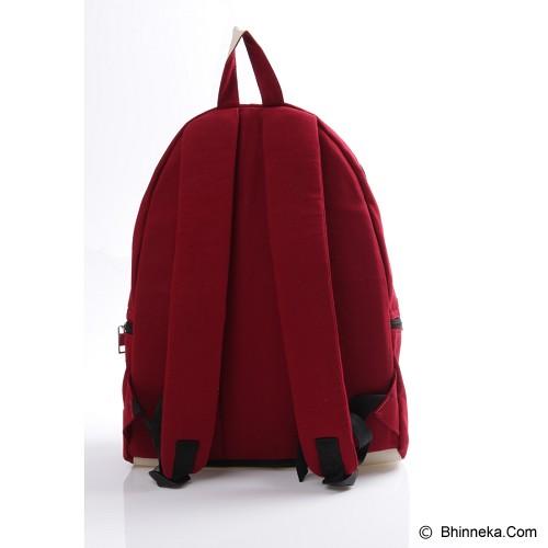 PULCHER Backpack Ransel Meisten - Maroon - Backpack Pria