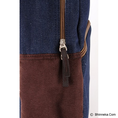 PULCHER Backpack Ransel Rigle - Navy - Backpack Pria