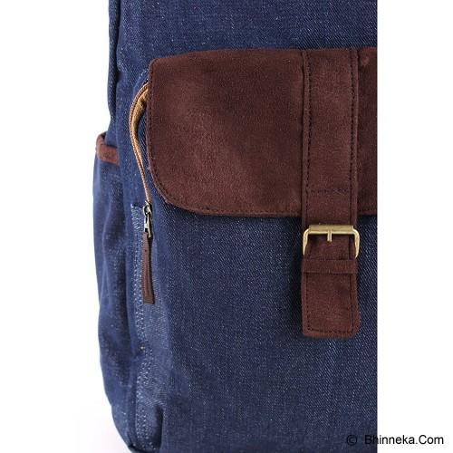 PULCHER Backpack Ransel Wezen - Navy - Backpack Pria