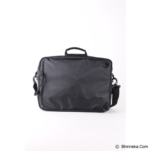 PULCHER Backpack Trois 3 in 1 - Black - Backpack Pria