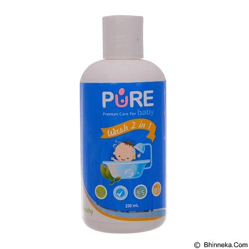 PURE BABY Wash 2in1 Freshy 230ml [BHG/7625] (Merchant) - Sabun Mandi Bayi dan Anak