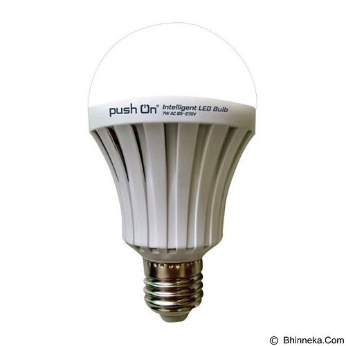 PUSH ON Intelligent Bulb 9W (Merchant) - Lampu Bohlam / Bulb
