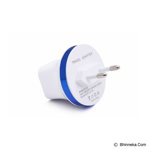 PUWEI PL-2 - White - Universal Travel Adapter