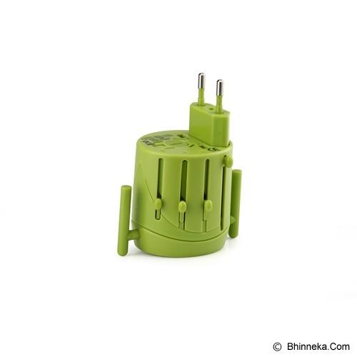 PUWEI UTA-02 - Green - Universal Travel Adapter