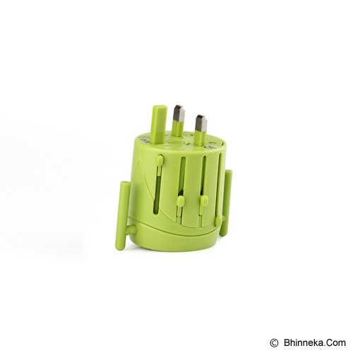 PUWEI UTA-02 - Green - Universal Travel Adapter