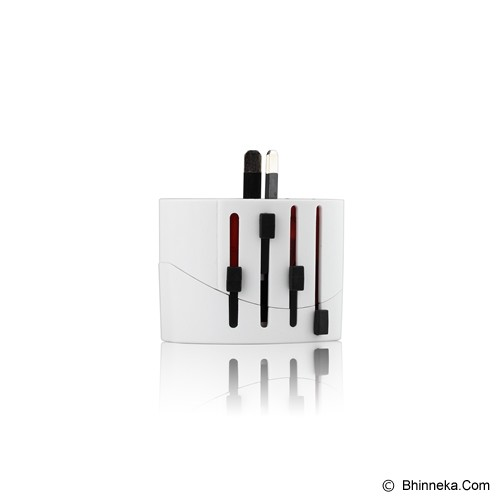 PUWEI UTA-05 - White - Universal Travel Adapter