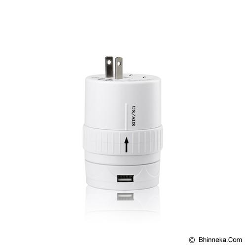 PUWEI UTA-06 - White - Universal Travel Adapter