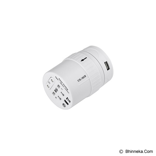 PUWEI UTA-06 - White - Universal Travel Adapter