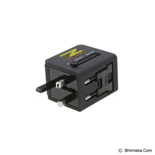 PUWEI UTA-13 (1 USB Output5V2.1A) - Black - Universal Travel Adapter