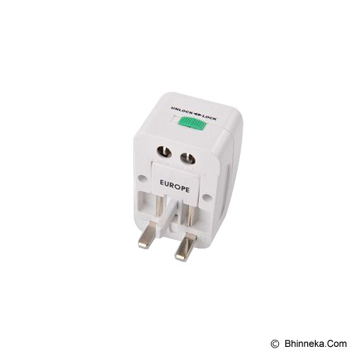 PUWEI UTA-16 - White - Universal Travel Adapter