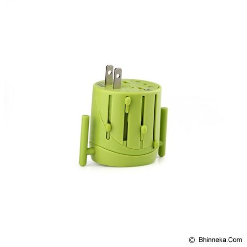 PUWEI UTA02-1 - Green - Universal Travel Adapter