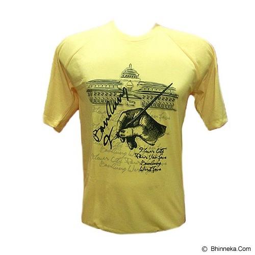 PVJ Kaos Khas Bandung Size S [009] - Kuning - Kaos Pria