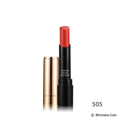 Posh Nanda Long Lasting Lipstick - Orange (Merchant) - Kuas Make-Up