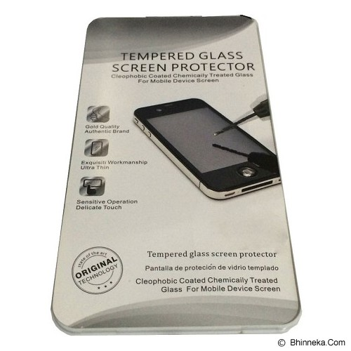 QC Tempered Glass for Apple iPhone 6 5'5 3D Back Front - Screen Protector Handphone