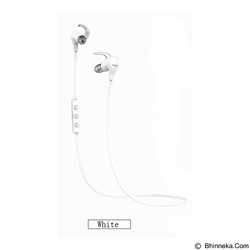QCY Q5S Sporty NFC Stereo Universal Wireless Bluetooth Headse - White - Headset Bluetooth