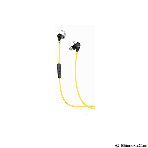 QCY Q5S Sporty NFC Stereo Universal Wireless Bluetooth Headse - Yellow - Headset Bluetooth