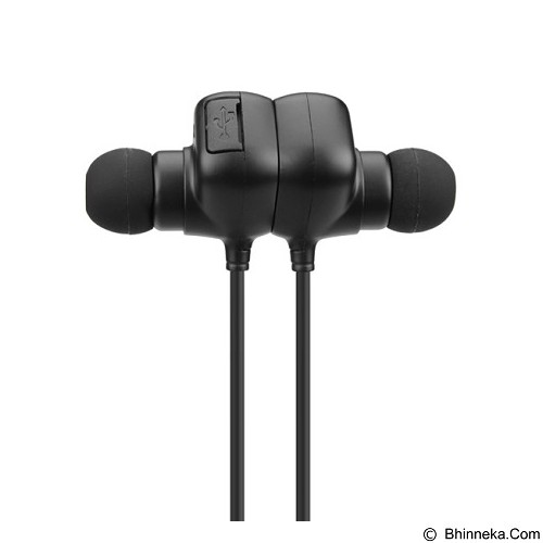 QCY Sport Magnetic Adsorption Wireless [QY12] (Merchant) - Headset Bluetooth