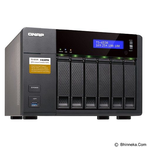 QNAP TS-653A-8G - Nas Storage Tower