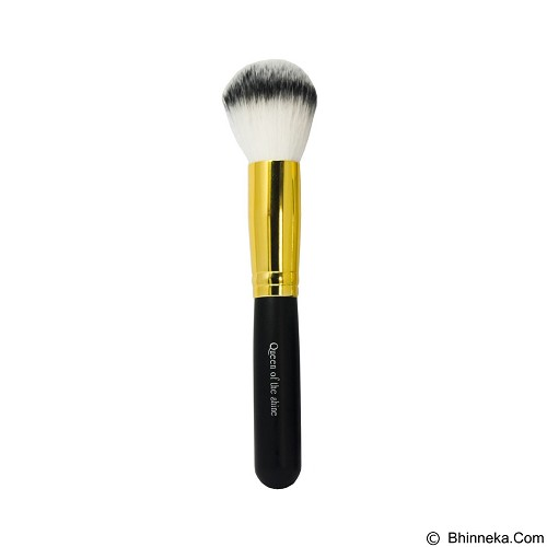 QUEEN OF THE SHINE Kuas Powder Brush [KB010] - Gold (Merchant) - Kuas Make-Up