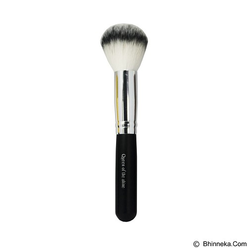 QUEEN OF THE SHINE Kuas Powder Brush [KB010] - Silver (Merchant) - Kuas Make-Up