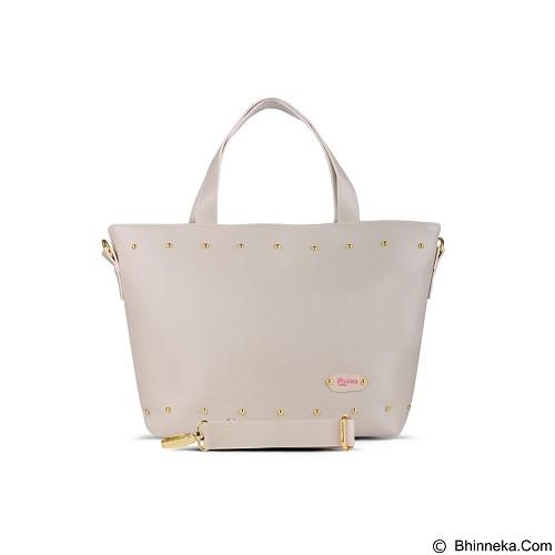 QUINTA Carissa Tote Bags - Broken White - Shoulder Bag Wanita