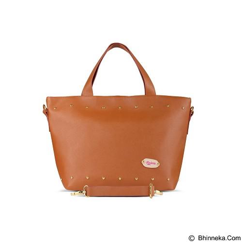 QUINTA Carissa Tote Bags - Brown - Shoulder Bag Wanita