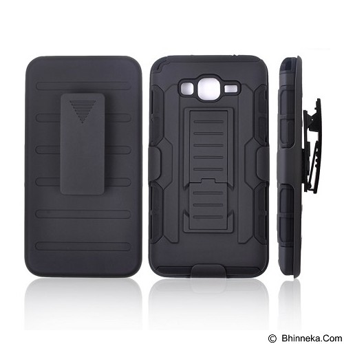 R-CASE Future Armor Hardcase with Belt Clip Holster Case for Samsung Galaxy Grand Prime/Plus - Casing Handphone / Case