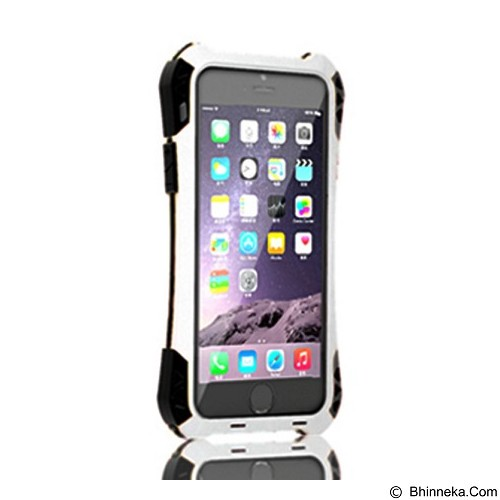 R-JUST Amira Case For Iphone 5/5S - White Black - Casing Handphone / Case