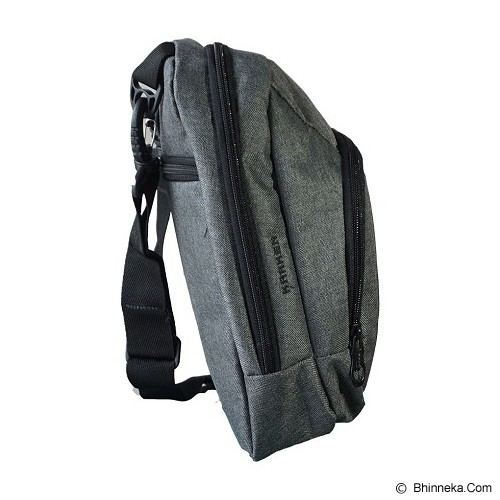 RADIANT Slingbag Kraken - Hitam - Travel Shoulder Bag