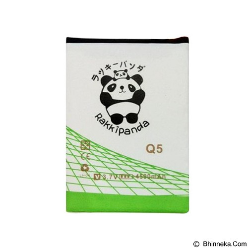 RAKKIPANDA Battery for Blackberry Q5 4500mAh - Handphone Battery