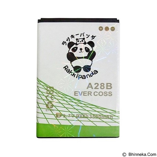 RAKKIPANDA Battery for  Evercoss A28B 3500mAh [EVER COSS A28B] - Handphone Battery