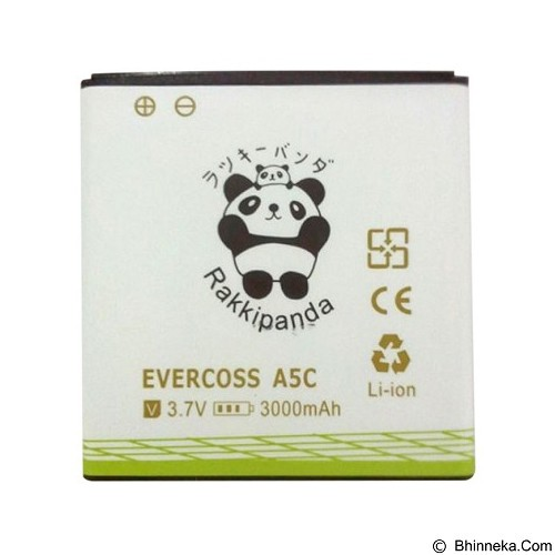 RAKKIPANDA Battery for Evercoss A5C 3000 mAh (Merchant) - Handphone Battery