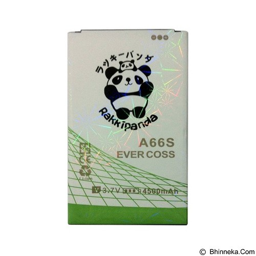 RAKKIPANDA Battery for Evercoss A66S 4500mAh [EVER COSS A66S] - Handphone Battery
