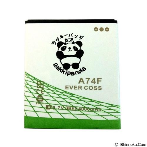 RAKKIPANDA Battery for Evercoss A74F 4000mAh - Handphone Battery