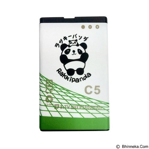 RAKKIPANDA Battery for Evercoss C5 3800mAh [EVER COSS C5] - Handphone Battery