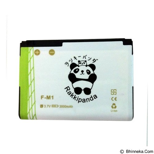 RAKKIPANDA Battery for F-M1 Blackberry Pearl 9105 3000mAh - Handphone Battery