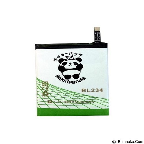 RAKKIPANDA Battery for Lenovo P70 [BL234] - Handphone Battery