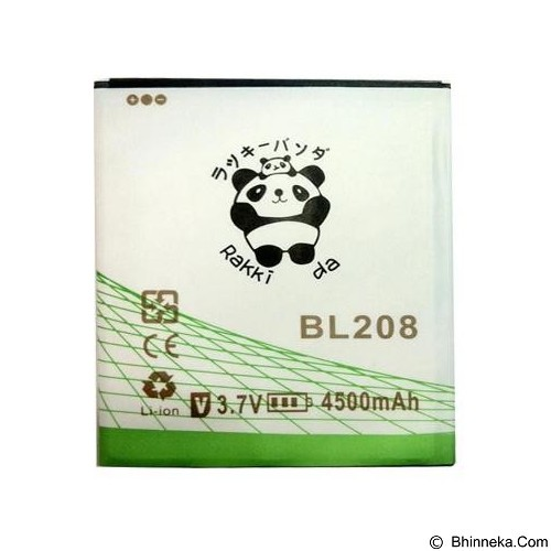RAKKIPANDA Battery for Lenovo S920 [BL-208] - Handphone Battery