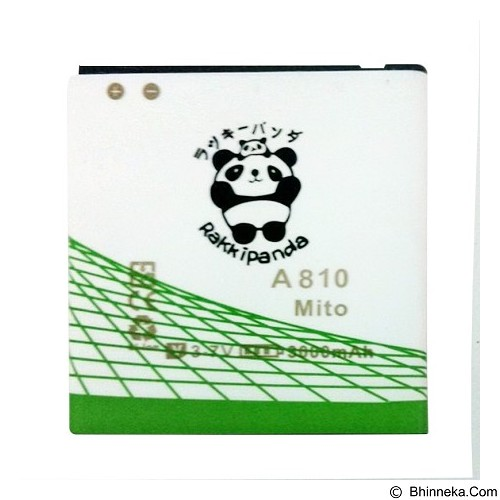 RAKKIPANDA Battery for Mito A810 3000mAh [MITO A810] - Handphone Battery