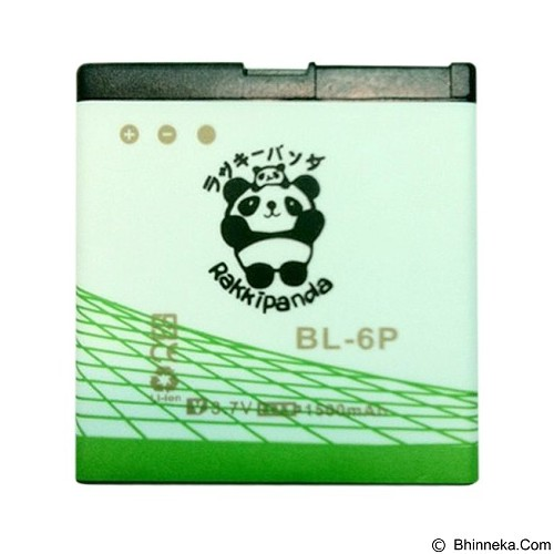 RAKKIPANDA Battery for Nokia BL-6P 1500 mAh - Handphone Battery
