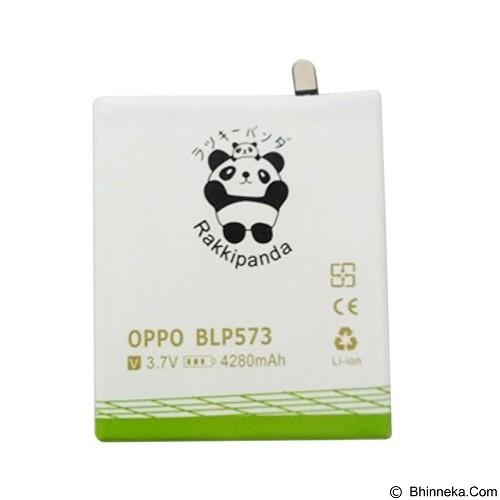 RAKKIPANDA Battery for Oppo N1 Mini 4280mAh [BLP573] - Handphone Battery